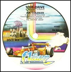 "Joe Coleman/TEST DRIVE 12"""