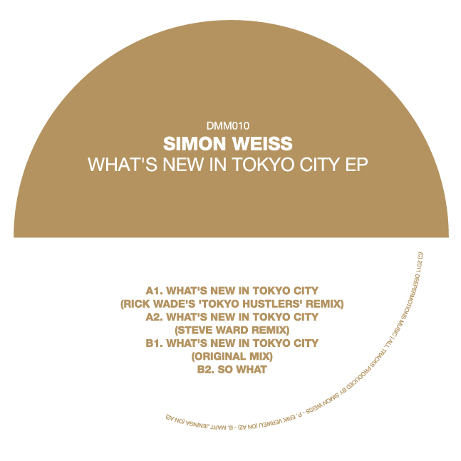 Simon Weiss/WHAT'S NEW IN TOKYO CITY 12""
