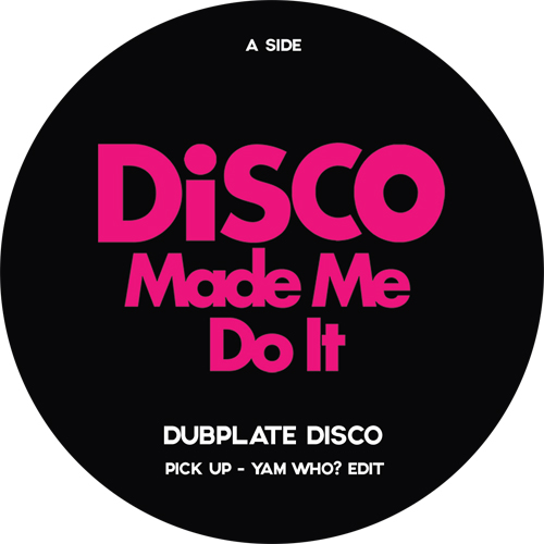 Various/DISCO MADE ME DO IT SMPLR 1 12""