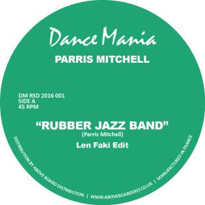 """Parris Mitchell/RUBBER-LEN FAKI EDIT 12"""""""