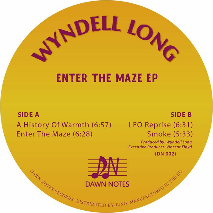Wyndell Long/ENTER THE MAZE EP 12""