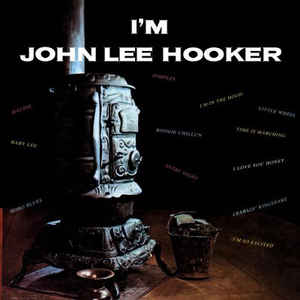 John Lee Hooker/I'M JOHN LEE (BLUE) LP