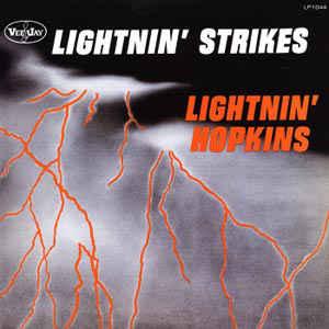 Lightnin' Hopkins/STRIKES (PURPLE) LP