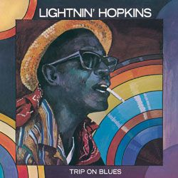 Lightnin' Hopkins/TRIP ON BLUES LP