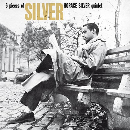 Horace Silver/6 PIECES OF SILVER LP