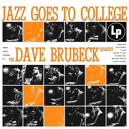 Dave Brubeck/JAZZ GOES TO COLLEGE LP