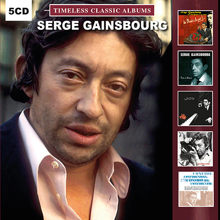 Serge Gainsbourg/TIMELESS CLASSICS 5CD