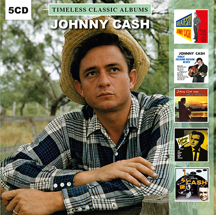 Johnny Cash/TIMELESS CLASSICS 5CD