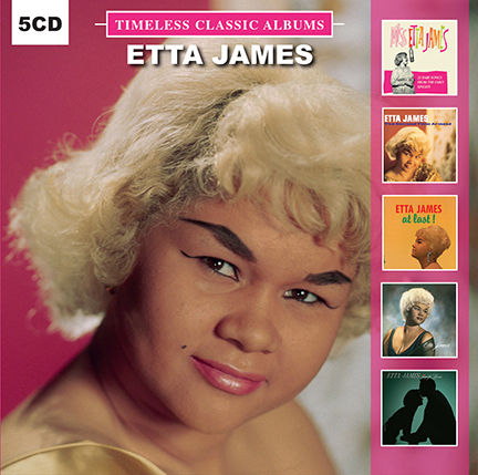 Etta James/TIMELESS CLASSICS 5CD