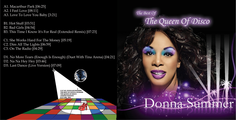 Donna Summer/BEST OF QUEEN OF DISCO DLP