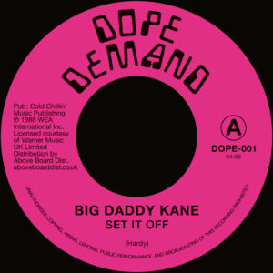 Big Daddy Kane/SET IT OFF 7""