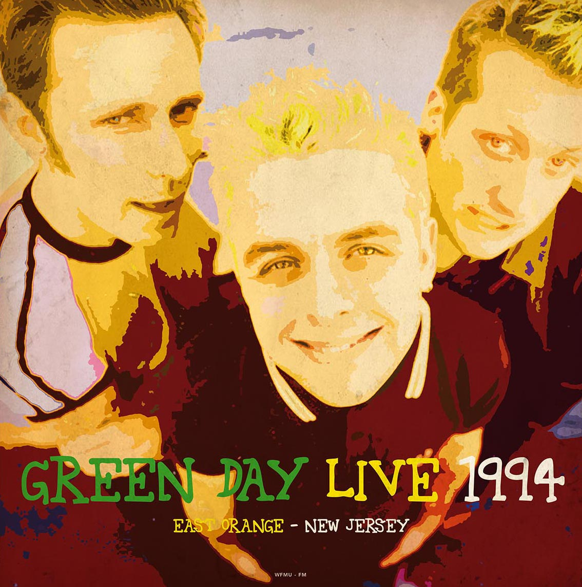 Green Day/LIVE 1994 WFMU-FM (180g) LP