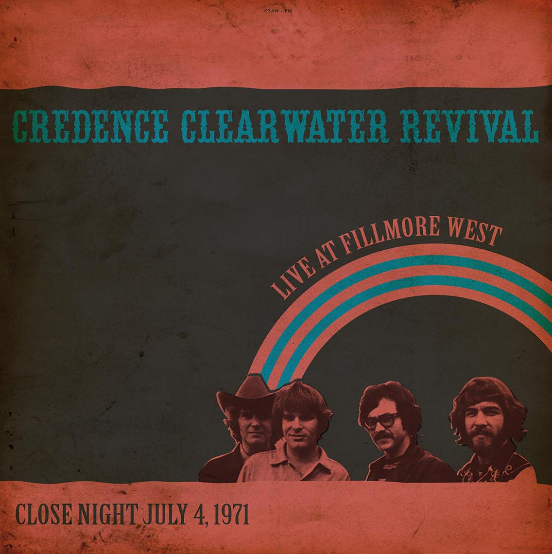 Creedence Clearwater R/LIVE '71(180g) LP