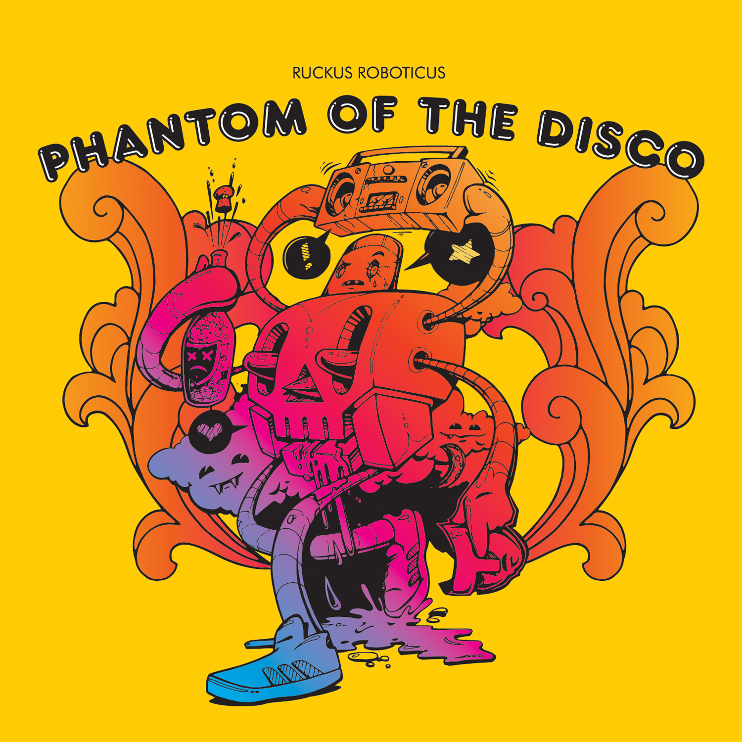Ruckus Roboticus/PHANTOM OF THE DISCO LP