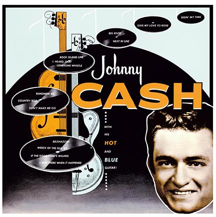 Johnny Cash/WITH HIS HOT & BLUE(180g) LP