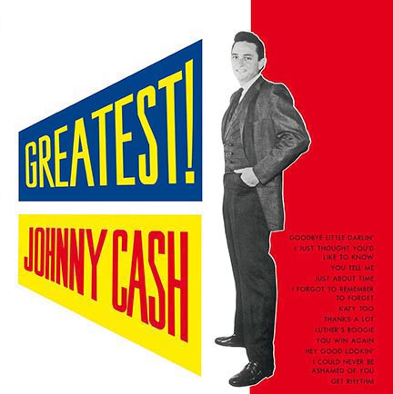 Johnny Cash/GREATEST (180g) LP