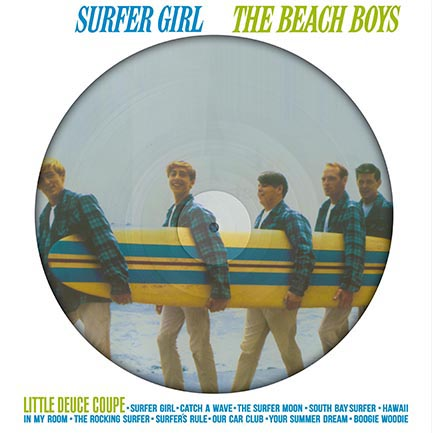 Beach Boys/SURFER GIRL PIC LP