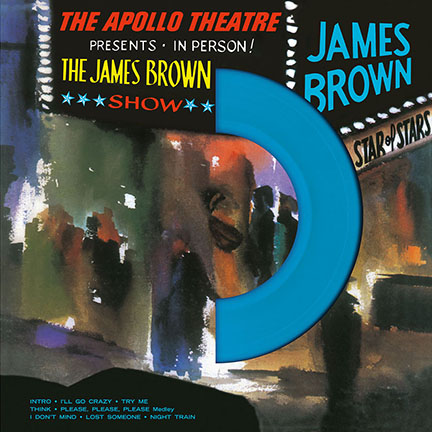 James Brown/LIVE AT THE APOLLO(COLOR) LP
