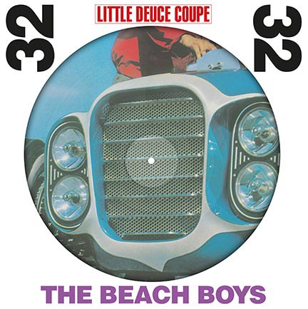 Beach Boys/LITTLE DEUCE COUPE PIC LP