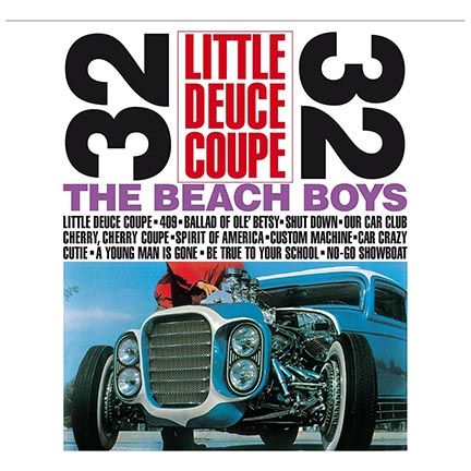 Beach Boys/LITTLE DEUCE COUPE (180g) LP