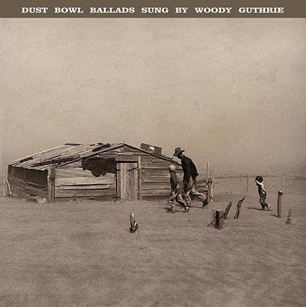 Woody Guthrie/DUST BOWL BALLADS(180g) LP