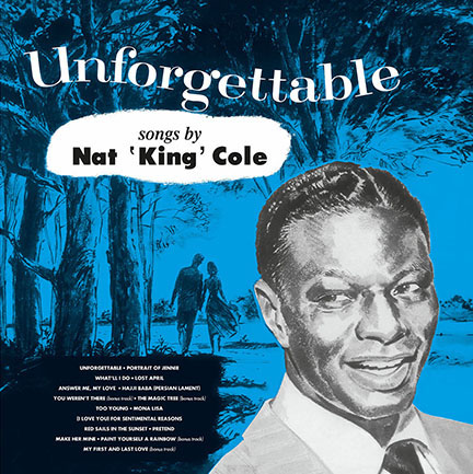 Nat King Cole/UNFORGETTABLE (180g) LP