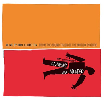 D. Ellington/ANATOMY OF A MURDER OST LP