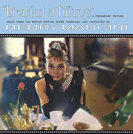 Henry Mancini/BREAKFAST AT (BLUE) LP