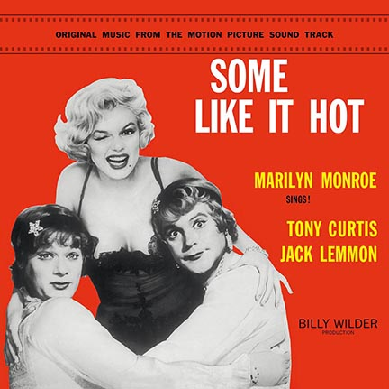 Marilyn Monroe/SOME LIKE IT HOT OST LP