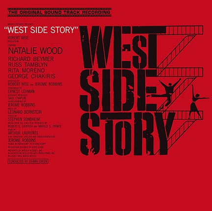 L. Bernstein/WEST SIDE STORY (180g) LP