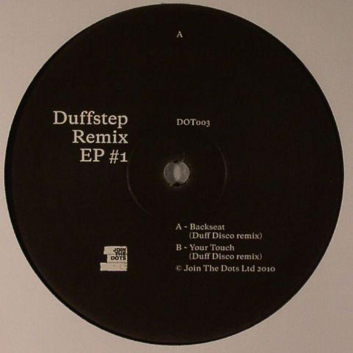 "Duffstep/BACK SEAT (DUFF DISCO RMX) 12"""