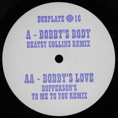 "Beatsy Collins/BOBBY'S BODY 7"""