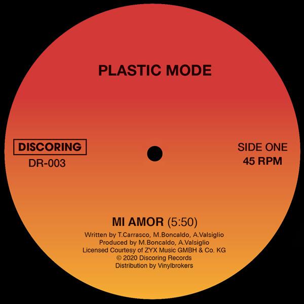 """Plastic Mode/MI AMOR 12"""""""