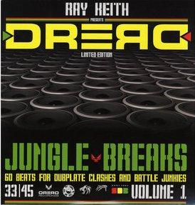 Ray Keith/DREAD JUNGLE BREAKS DCD
