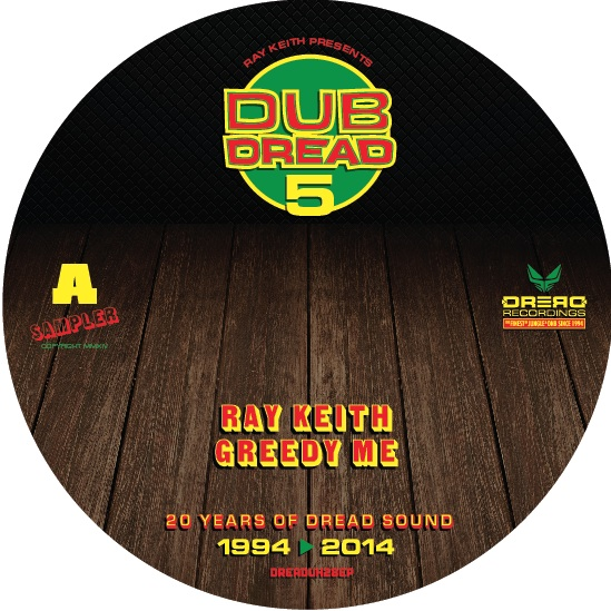 "Ray Keith/DUB DREAD 5 SAMPLER D12"" + CD"