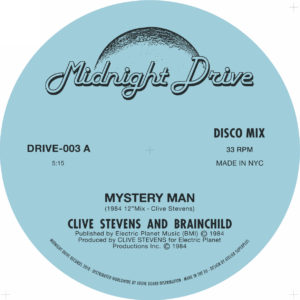 "Clive Stevens & Brainchild/MYSTERY.. 12"""