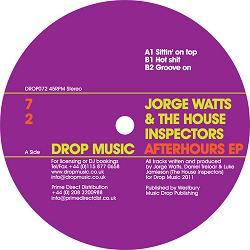 "Jorge Watts/AFTERHOURS EP 12"""