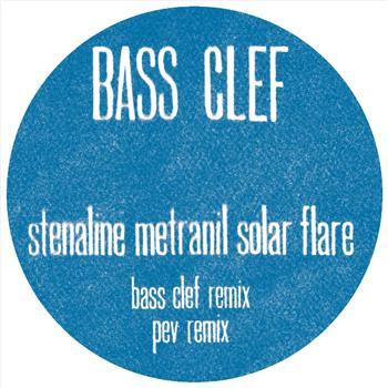 "Bass Clef/STENALINE... (PEV REMIX) 12"""