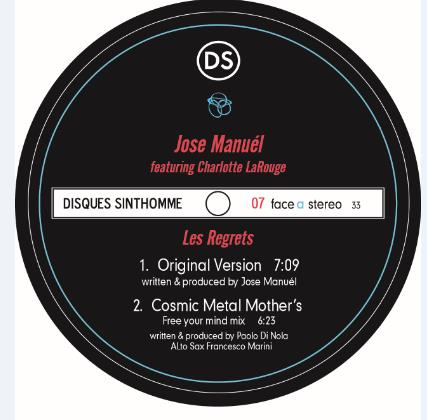 Jose Manuel/LES REGRETS REMIXES 12""