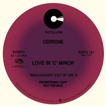Cerrone/LOVE IN C MINOR-DANNY KRIVIT 12""
