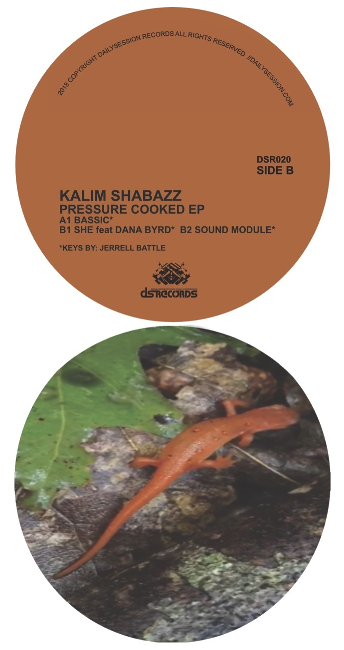 Kalim Shabazz/PRESSURE COOKED EP 12""
