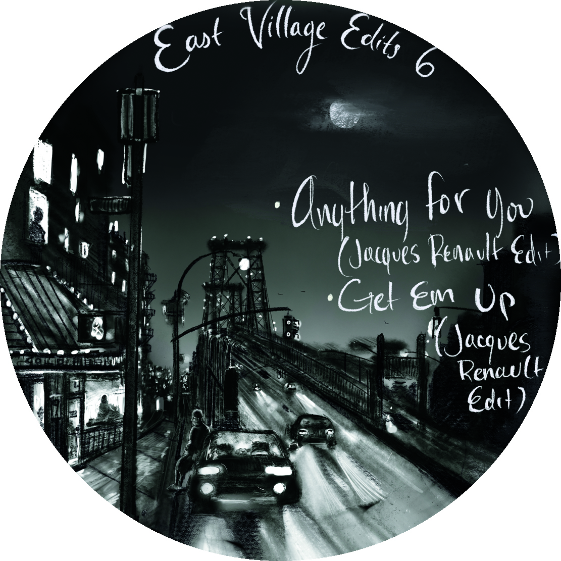 Jacques Renault/EAST VILLAGE EDITS 6 12""