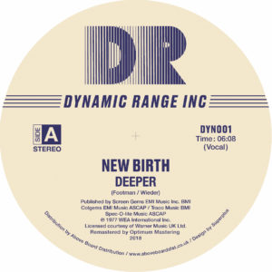 New Birth/DEEPER 12""
