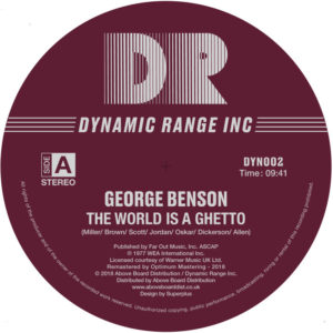 George Benson/THE WORLD IS A GHETTO 12""