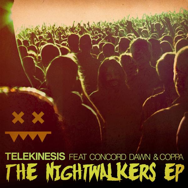 """Telekinesis/NIGHTWALKERS 12"""""""