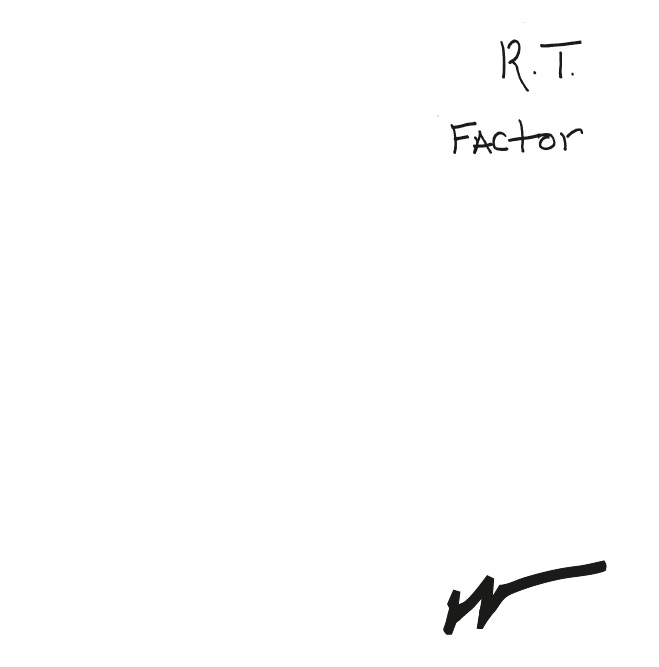 R.T. Factor/WHAT DOES IT MEAN 12""
