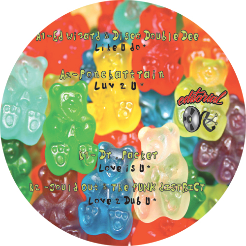 "Various/EDITORIAL #16 12"""