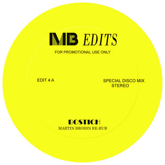 Yello/BOSTICH MB EDIT YELLOW VINYL 12""