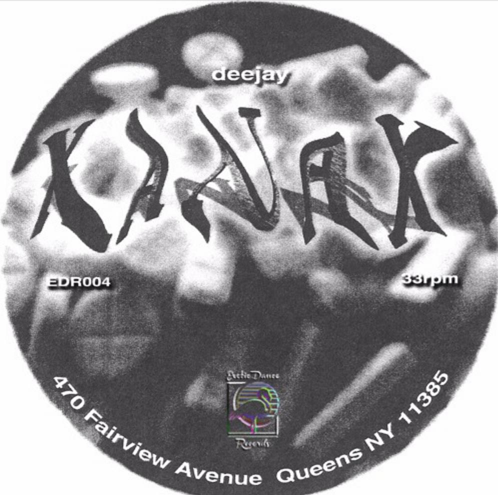 "Deejay Xanax/NO TITLE WHATSOEVER 12"""