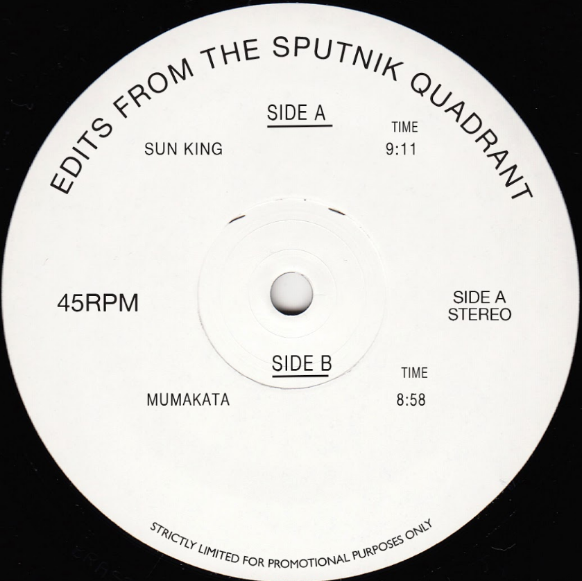 Sputnik/EDITS FROM THE SPUTNIK... 12""